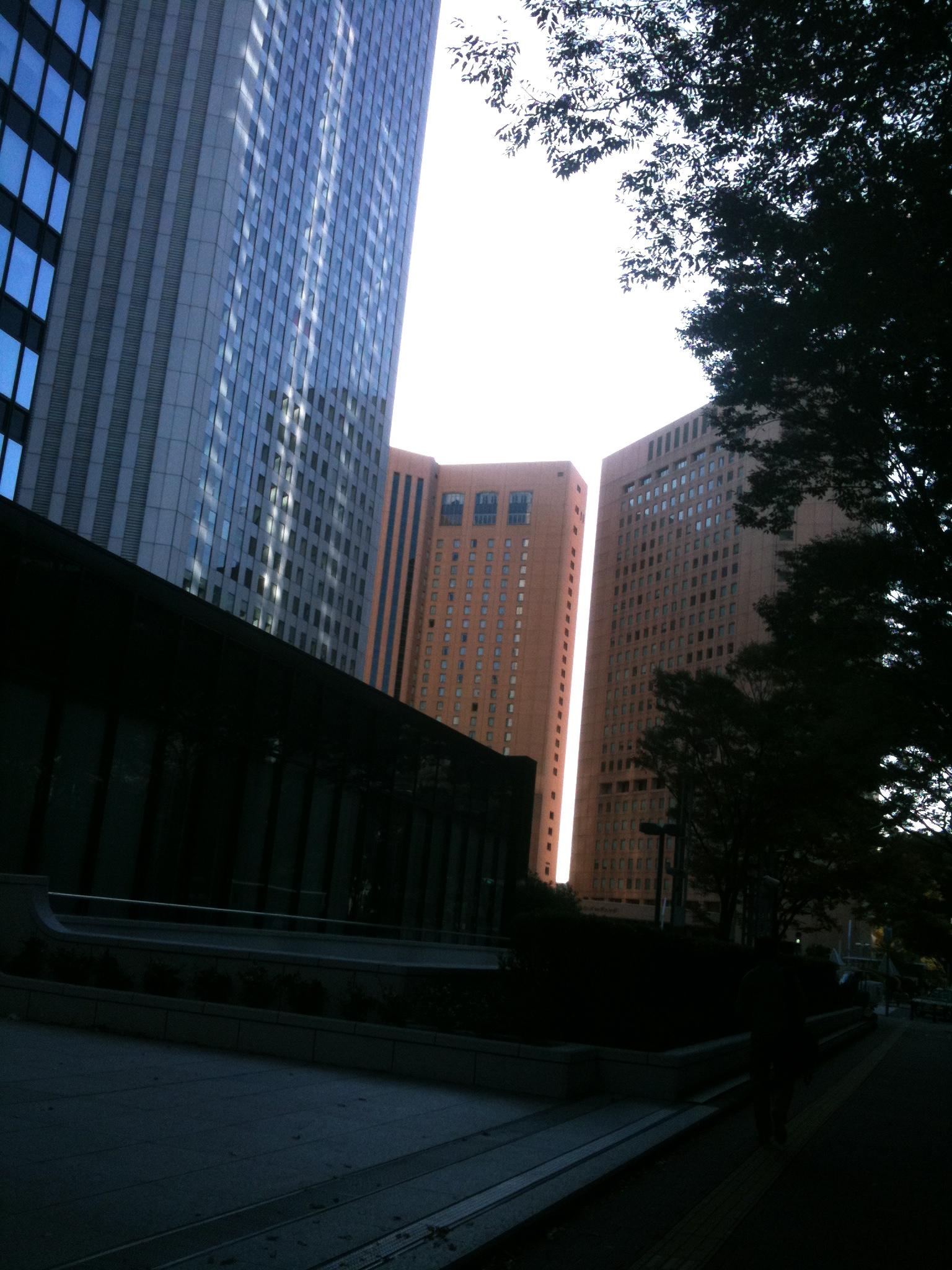 休日の新宿